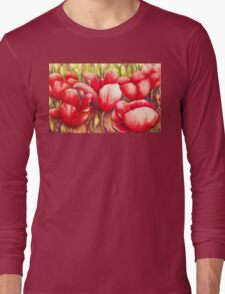 Dancing Tulips Long Sleeve T-Shirt