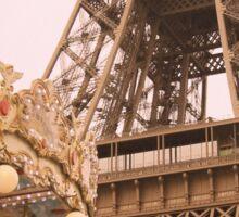 le Carrousel de la Tour Eiffel Sticker