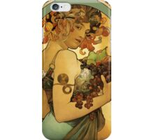 Alphonse Mucha Painting iPhone Case/Skin