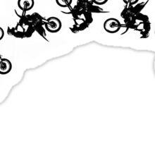 Motocross Backflip Sticker