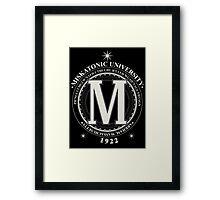 Miskatonic University - Fhtagn (Dark) Framed Print