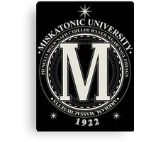 Miskatonic University - Fhtagn (Dark) Canvas Print