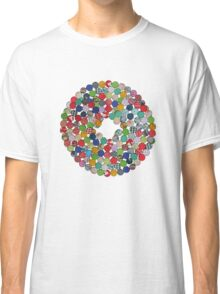 Button Floral Classic T-Shirt