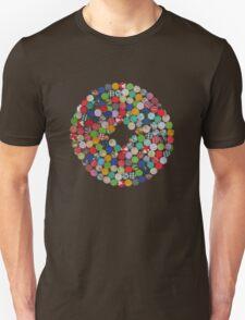 Button Floral Unisex T-Shirt