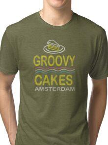 Groovy Cakes Amsterdam Tri-blend T-Shirt