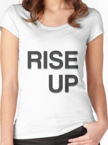 Rise Up - Hamilton Women's Fitted Scoop T-Shirt