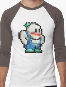 Snow Brothers Blue Men's Baseball ¾ T-Shirt