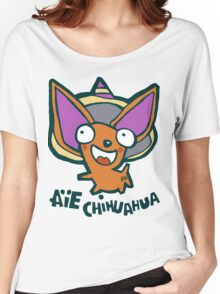 Aie chihuahua dog Women's Relaxed Fit T-Shirt