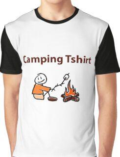 Camping Tshirt Graphic T-Shirt