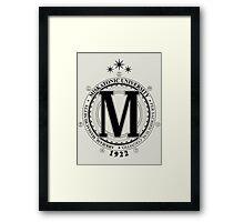 Miskatonic University - Per Sacrificium, Cognitio (Light) Framed Print