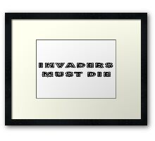Prodigy Song Lyrics Framed Print