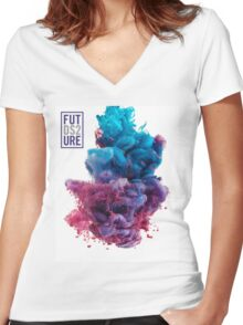 DS2 Women's Fitted V-Neck T-Shirt