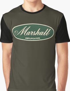 Marshall Amplification Oval Graphic T-Shirt