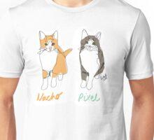 Nacho & Pixel (@gillians_kittens) Unisex T-Shirt
