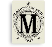 Miskatonic University - Fhtagn (Light) Canvas Print