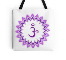 Om or Aum Symbol of wisdom and meditation Tote Bag