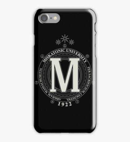 Miskatonic University - Per Sacrificium, Cognitio (Dark) iPhone Case/Skin