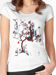 Vector Tree Women's Fitted Scoop T-Shirt