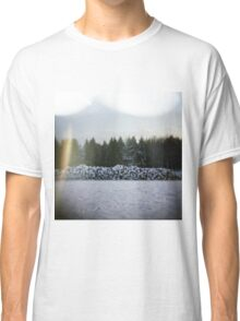 Winter Logs Classic T-Shirt