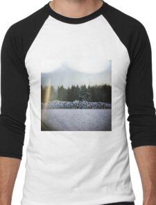 Winter Logs Men's Baseball ¾ T-Shirt