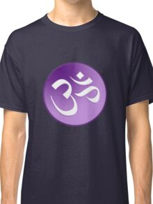 Braham OM Symbol in Purples and Lavenders Classic T-Shirt