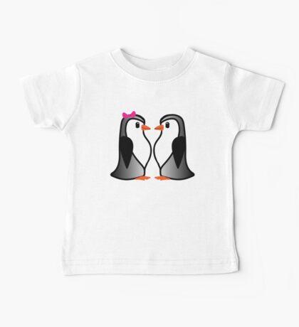 Penguin Lovers Baby Tee