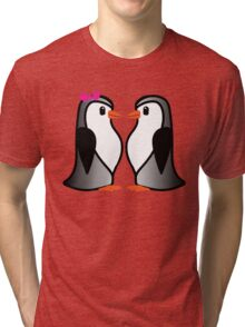 Penguin Lovers Tri-blend T-Shirt
