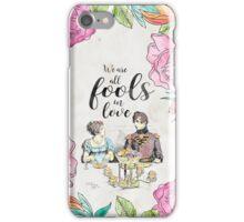 Pride and Prejudice - Fools in Love iPhone Case/Skin