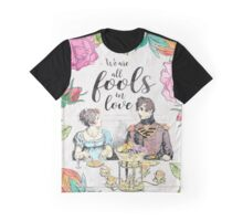 Pride and Prejudice - Fools in Love Graphic T-Shirt