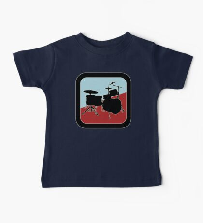 drums Sign Baby Tee