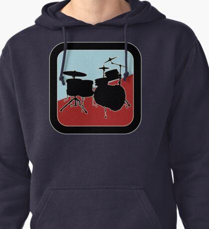 drums Sign Pullover Hoodie