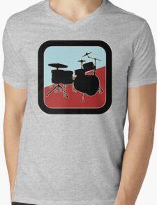 drums Sign Mens V-Neck T-Shirt