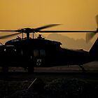US Army Blackhawk Medic helicopter by captureasecond