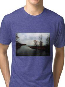 The inlet Tri-blend T-Shirt