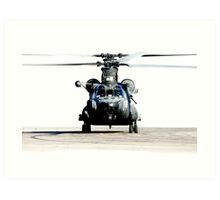 US Army Special Forces MH-47 Chinook Art Print