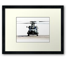 US Army Special Forces MH-47 Chinook Framed Print