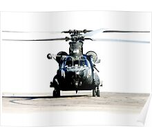 US Army Special Forces MH-47 Chinook Poster