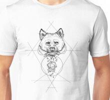 Dotwork Wolf Unisex T-Shirt