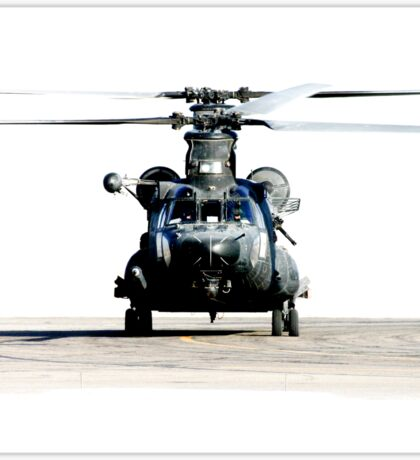 US Army Special Forces MH-47 Chinook Sticker