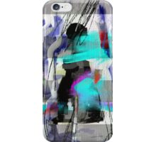 The river laughs of wet pines,  this spring,  sound tumult of water. iPhone Case/Skin