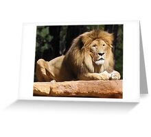 Aslan the Lion Greeting Card
