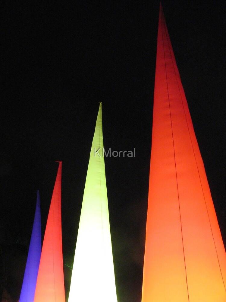 Coloured cones by KMorral