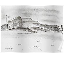 Lifeguard Station, Fistral Beach, Newquay Poster