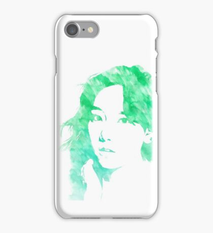 SNSD Taeyeon Watercolor Edit iPhone Case/Skin