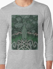 Tree of cognizance - acrylic on board Long Sleeve T-Shirt