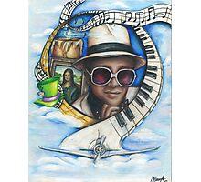 Elton John Piano Man Art Photographic Print