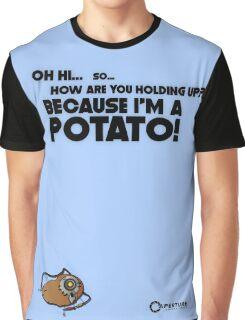 "Portal 2 Funny Clothing ""I'm a potato"" Graphic T-Shirt"