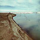 Lake Erie Ice Flow 2 by Shawna Rowe