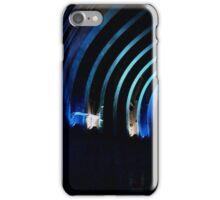 Streaks of blue iPhone Case/Skin
