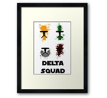 Republic Commando - Delta Squad Framed Print